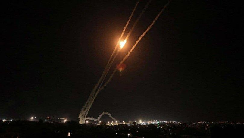 Son dakika! İsrail savaş uçakları yoğun şekilde Gazze'nin kuzeyini bombaladı