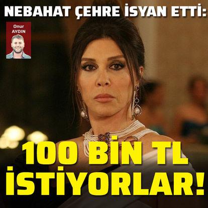 İsyan etti: 100 bin TL istiyorlar!