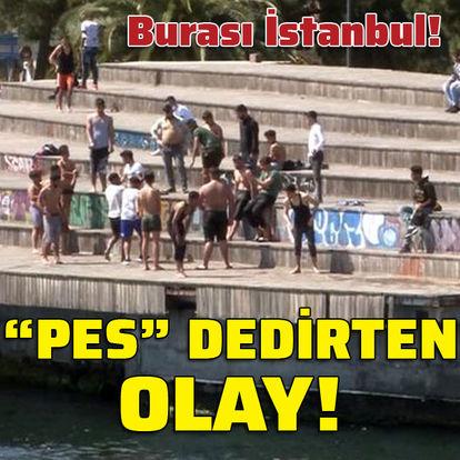 """Burası: İstanbul! """"Pes"""" dedirten olay!"""