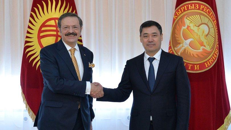 Türk işadamlarına Kırgızistan'dan davet