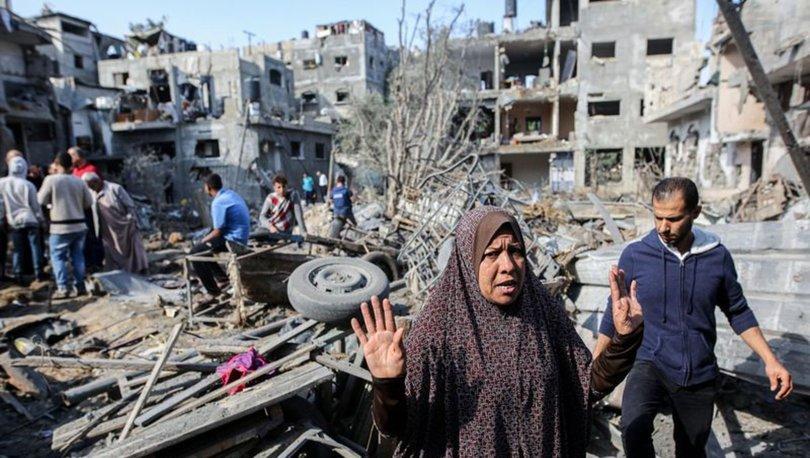 İSRAİL - GAZZE SALDIRISI! Son Dakika: İsrail Gazze'yi bombaladı, Gazze'de enkaz böyle görüntülendi! - Haberler
