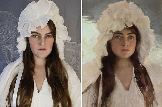 Rus kadın paylaştı... İnanılmaz benzerlik!