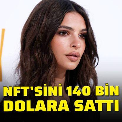 NFT'sini 140 bin dolara sattı