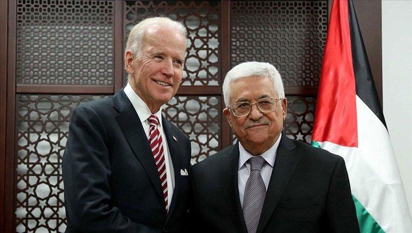 Filistin Devlet Başkanı Abbas, ABD Başkanı Biden ile görüştü