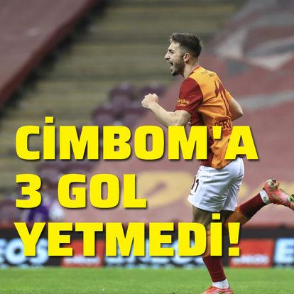 Galatasaray'a 3 gol yetmedi!