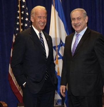Biden bir kez daha Netanyahu'ya destek verdi!