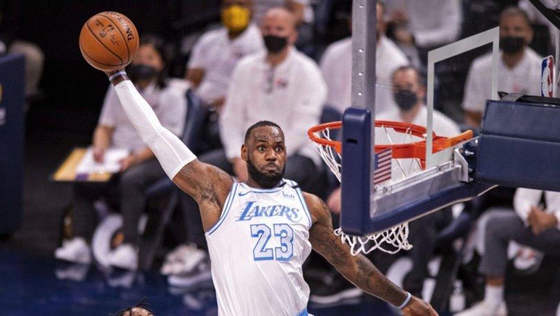 NBA'de Lakers, play-off umudunu son maça taşıdı
