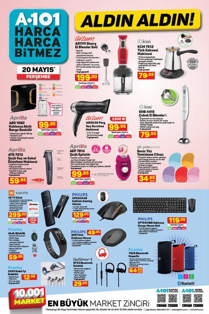A101 BİM aktüel ürünler kataloğu! A101 BİM 17-20 Mayıs aktüel ürünleri! İşte tüm liste yayında