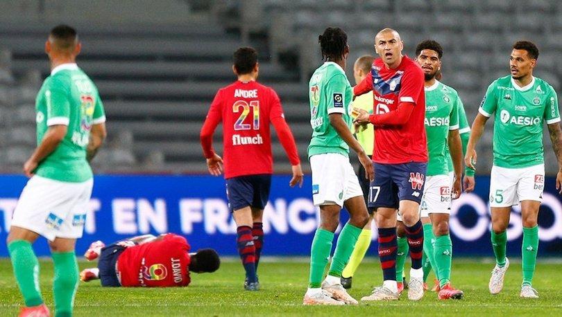 Lille: 0 - Saint-Etienne: 0 MAÇ SONUCU