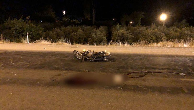 Hatay'da kamyonet motosiklete çarptı: 1 ölü, 1 yaralı