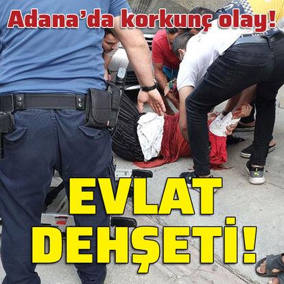 Adana'da korkunç olay! Evlat dehşeti!