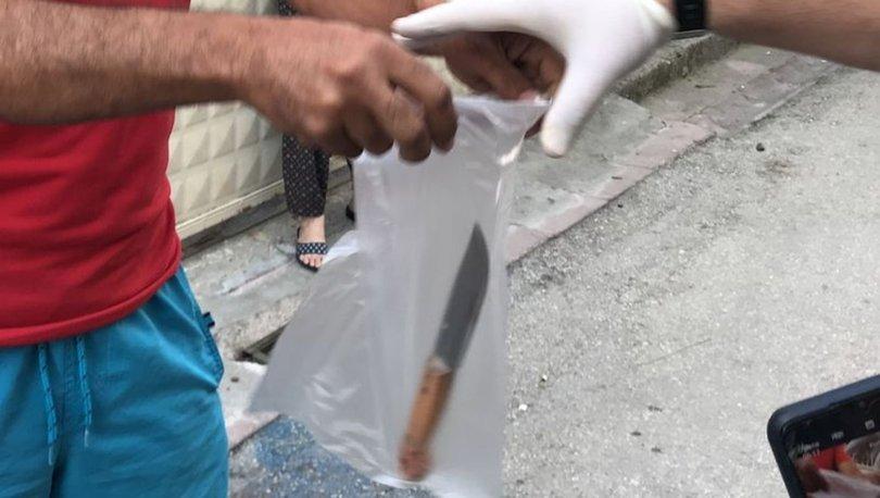 CANİ EVLAT! SON DAKİKA: Oğlu bıçakladı, komşuya kaçıp canını kurtardı! - VİDEO HABER