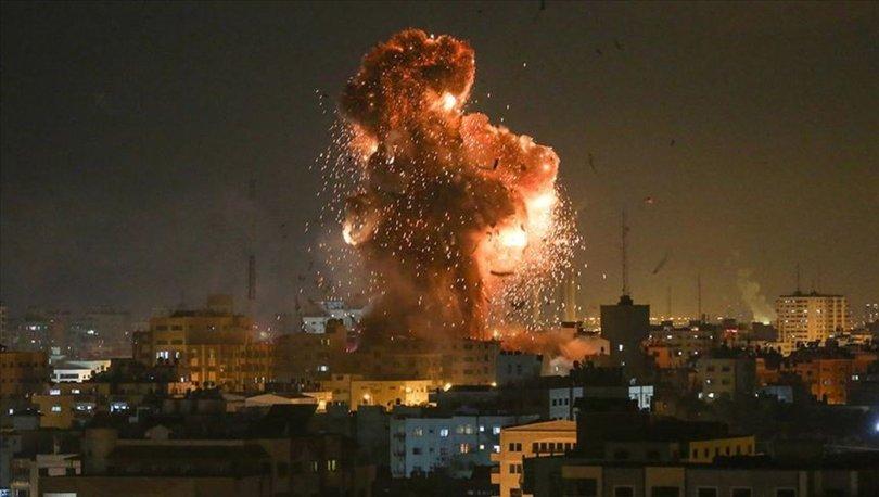İsrail'den Gazze'nin çeşitli noktalarına yoğun saldırı - Haberler