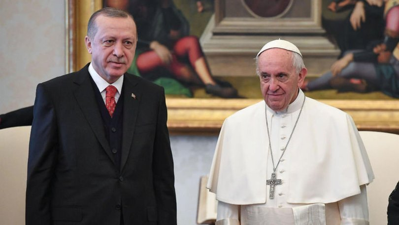 SON DAKİKA: Cumhurbaşkanı Erdoğan Papa Francis ile görüştü! - Haberler