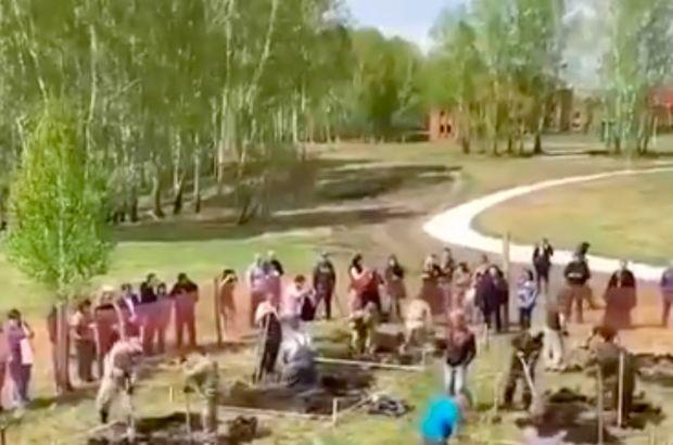 Rusya'da mezar kazma yarışı!