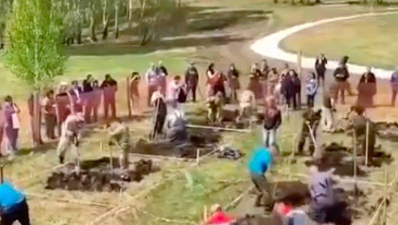 SON DAKİKA: Rusya'da mezar kazma yarışı! - Haberler