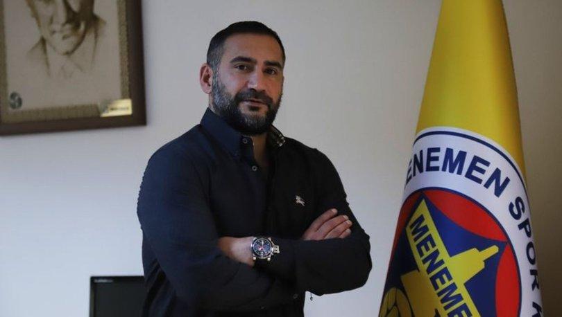 Teknik direktör Ümit Karan: Menemenspor'la yol ayrımına geldik