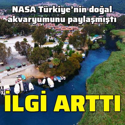 NASA Türkiye'nin doğal akvaryumunu paylaşmıştı... İlgi arttı
