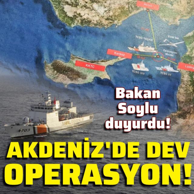 Bakan Soylu: Akdenizde 1,5 ton uyuşturucu ele geçirildi