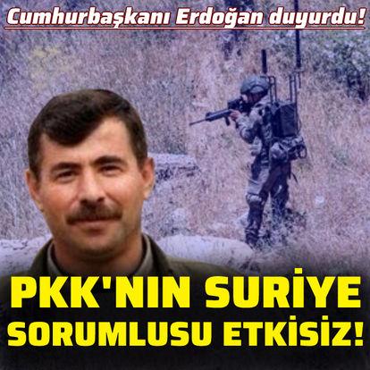 PKK'nın Suriye sorumlusu öldürüldü!