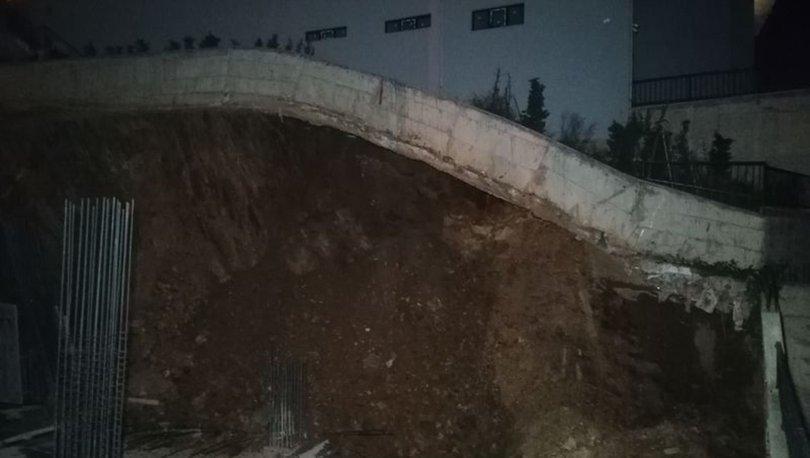Kocaeli'nde çökme tehlikesi nedeniyle 24 dairelik bina boşaltıldı