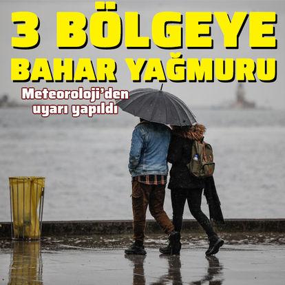 Trakya, Marmara ve Karadeniz için sağanak uyarısı