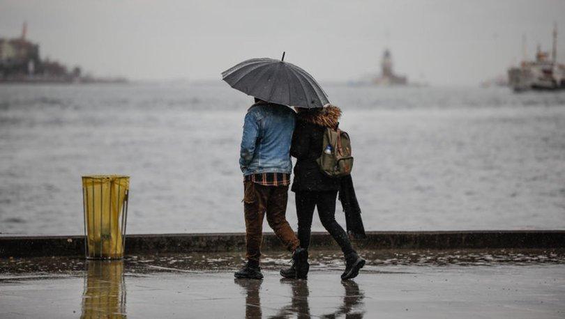 BAHAR YAĞMURU! Meteoroloji'den son dakika uyarısı! Trakya, Marmara ve Karadeniz için sağanak uyarısı