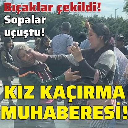 Beyoğlu'nda dehşet! Kız kaçırma muharebesi!