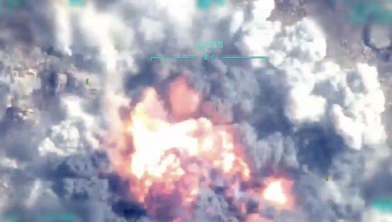 TSK PAYLAŞTI! Son dakika: PKK'nın Suriye sorumlusu böyle vuruldu - VİDEO HABER