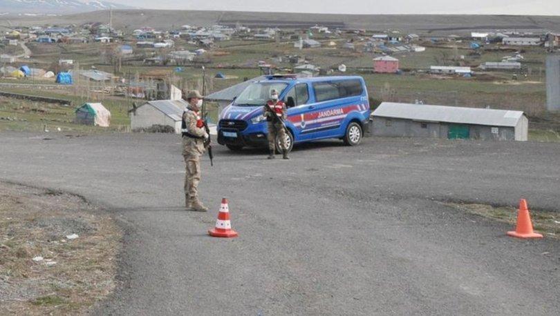 Kars'ta 2 köy Korona virüs (Covid-19) salgınıyla mücadele kapsamında karantinaya alındı