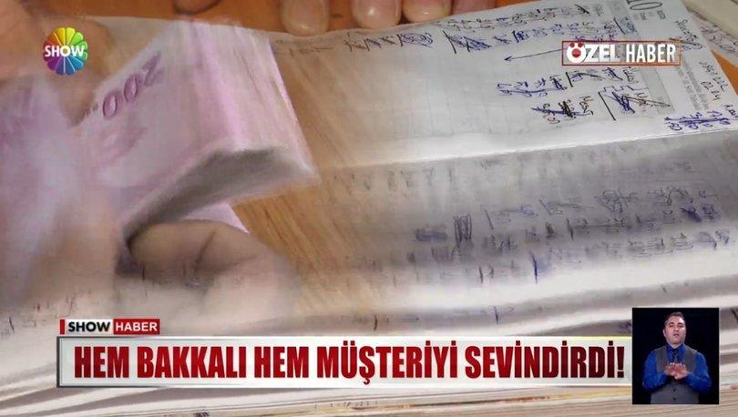 İstanbul Bağcılar'da bir hayırsever kadın bakkala gelerek tüm borçları kapattı