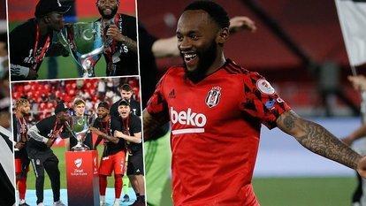 Beşiktaş'ın çifte kupa coşkusu!