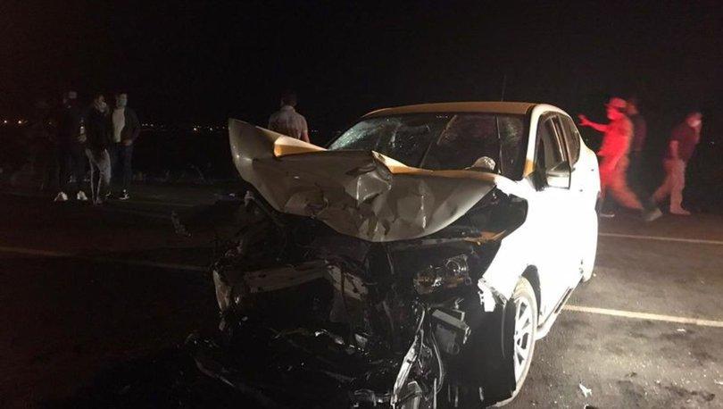 Muş'ta kamyonet ile otomobil çarpıştı: 1 ölü, 4 ağır yaralı