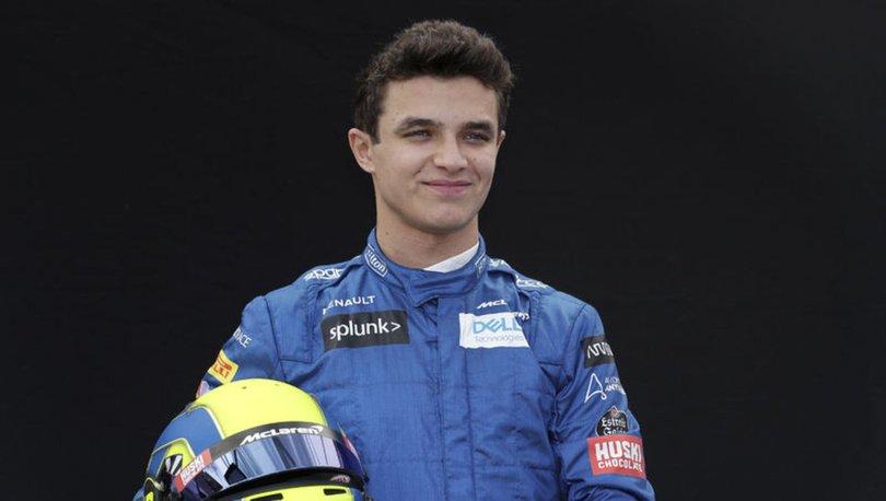 Formula 1'de McLaren, Lando Norris'in sözleşmesini uzattı