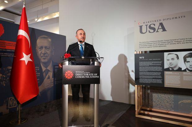 """New York'ta """"Şehit Diplomatlar Sergisi"""" açıldı"""