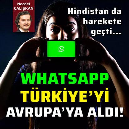WhatsApp Türkiye'yi Avrupa'ya aldı!