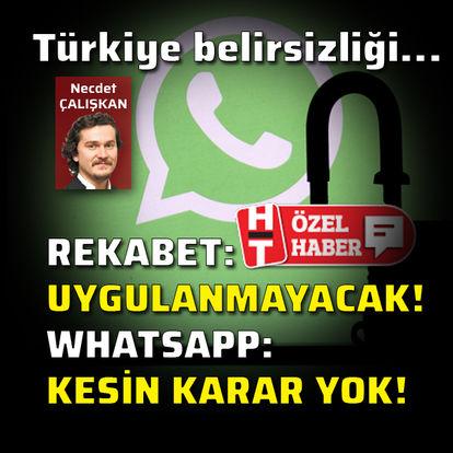 WhatsApp'tan Türkiye açıklaması!