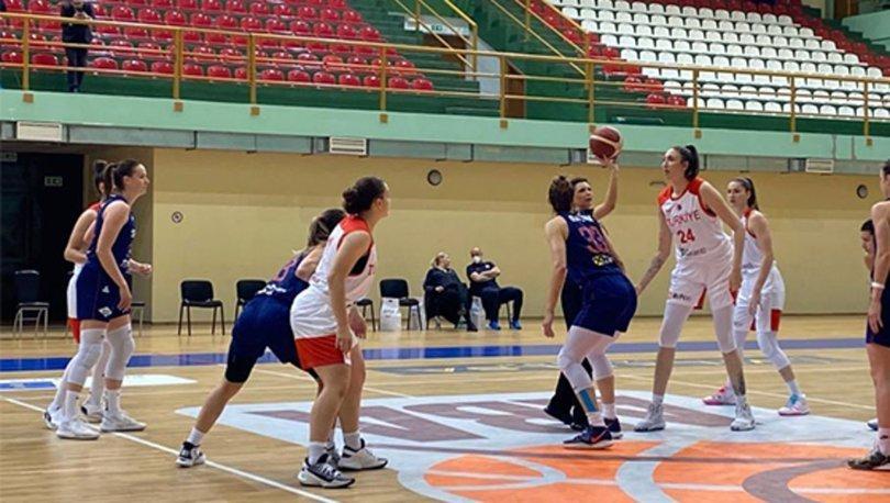 A Milli Kadın Basketbol Takımı, ikili temas maçında Sırbistan'a yenildi
