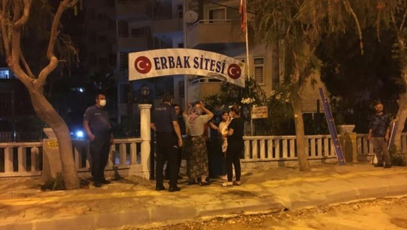 Mersin'de eşiyle tartışan adam, kendini yaralayıp evi ateşe verdi