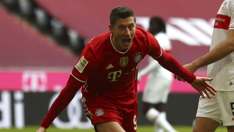 Avrupa'nın en golcüsü Bayern Münihli Lewandowski