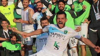 Kocaelispor finale yükseldi