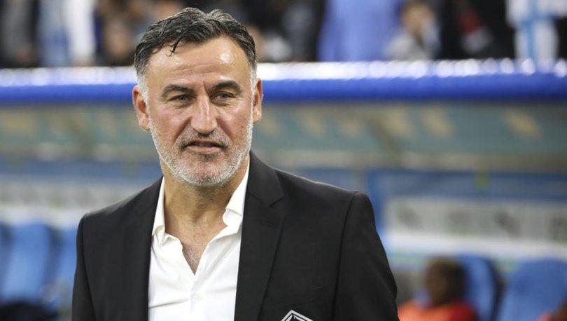 Lille Teknik Direktörü Galtier ayrıldığını açıkladı
