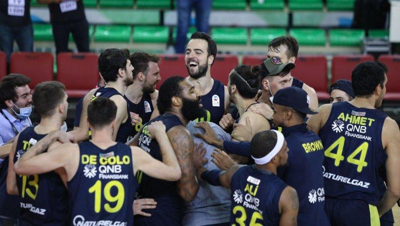 Pınar Karşıyaka: 76 - Fenerbahçe Beko: 78   MAÇ SONUCU