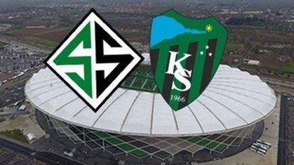 Kocaelispor Sakaryaspor maçı ne zaman?