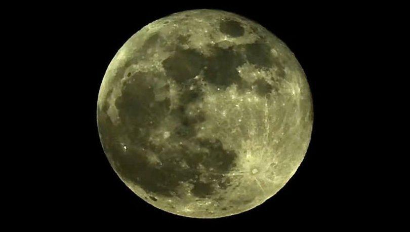 Süper Ay nefes kesti! Son dakika haberleri