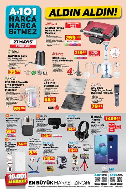 A101 BİM aktüel ürünler kataloğu! BİM 31 Mayıs aktüel ürünleri! Tüm liste yayında