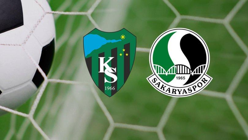 Kocaelispor Sakaryaspor maçı saat kaçta hangi kanalda? Sakarya Kocaeli maçı ne zaman?