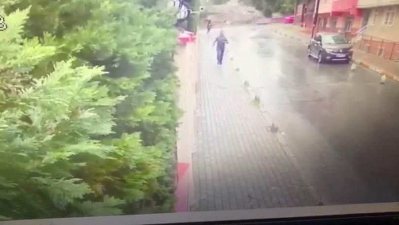 Caddenin ortasında göz göre göre taciz edip kaçtı!