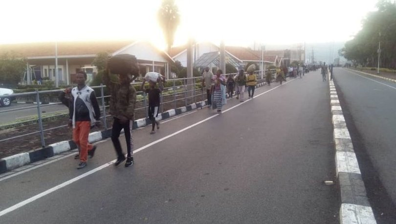 Son Dakika: Kongo'da yanardağ patladı! 3 bin kişi Ruanda'ya kaçtı ve... - Haberler
