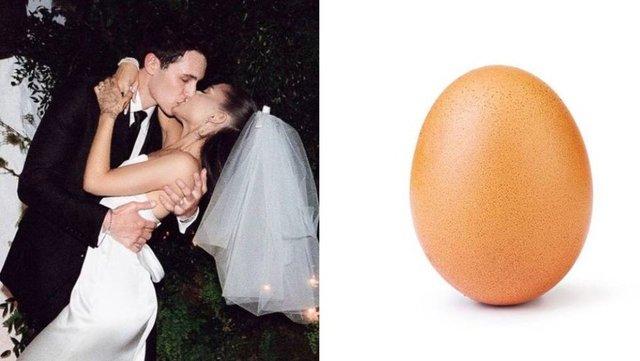 Ariana Grande düğün fotoğraflarıyla rekor kırdı - Magazin haberleri